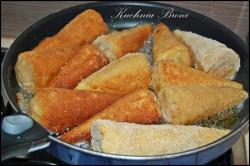 Příprava receptu Smažené kornouty plněné mletým masem, krok 5