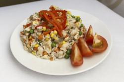 Příprava receptu Zeleninové rizoto s kuřecím masem, krok 1