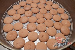 Příprava receptu Nepečený broskvový dort, krok 5
