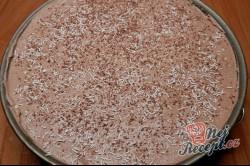 Příprava receptu Nepečený broskvový dort, krok 18