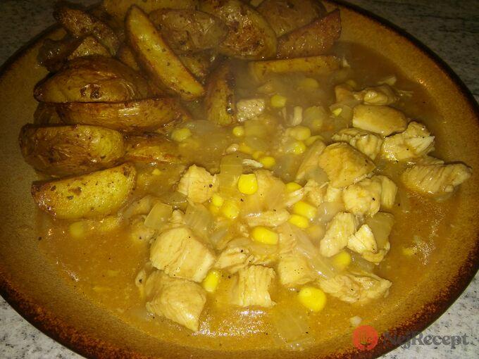 Recept Kuřecí s kukuřicí