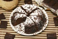 Příprava receptu Čokoládový dort z mikrovlnky za 5 minut, krok 6
