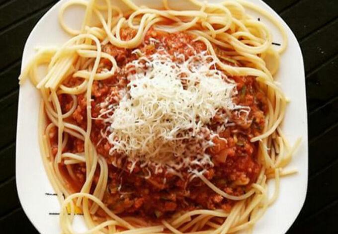 Recept Sojové špagety