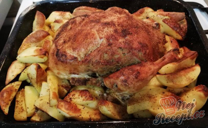 Recept Plněné kuře s nádivkou