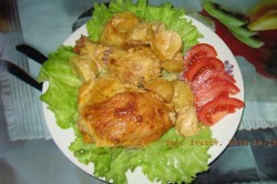 Příprava receptu Marinované kuřecí kousky zapečené v troubě, krok 4