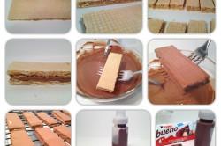 Příprava receptu Domácí KINDER BUENO tyčinka, krok 7