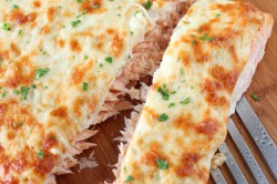 Příprava receptu Pečený losos se sýrovou krustou, krok 8
