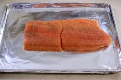 Příprava receptu Pečený losos se sýrovou krustou, krok 2
