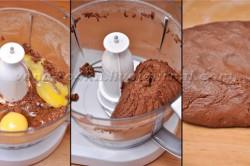 Příprava receptu Čokoládový dort s jablečno-skořicovou nádivkou, krok 1