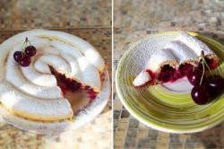Příprava receptu Višňový koláč po Rusky, krok 5