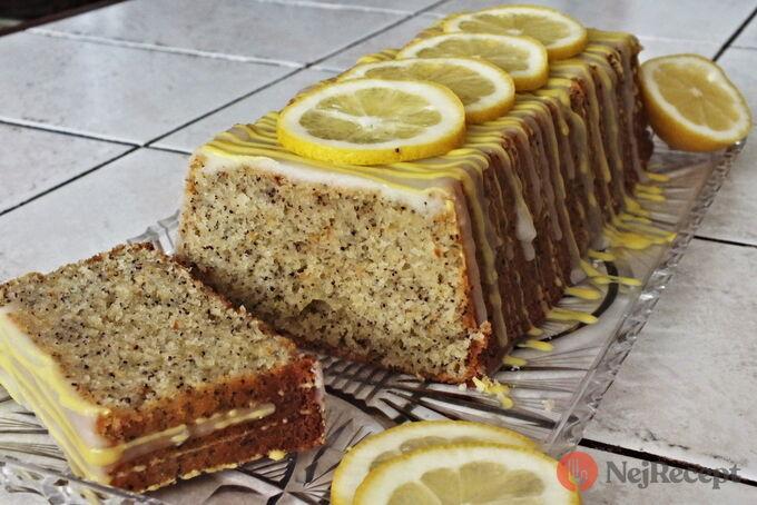 Recept Citrónovo - makový chlebíček