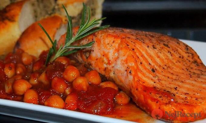 Recept Losos s cizrnovo-rajčatovou omáčkou