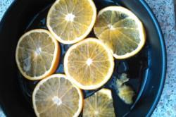 Příprava receptu Pomerančový koláč s lesním ovocem, krok 2