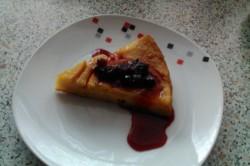 Příprava receptu Pomerančový koláč s lesním ovocem, krok 4