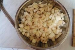 Příprava receptu Rychlý jablečný koláč, krok 3