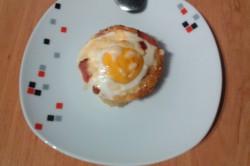 Příprava receptu Bramborové muffiny, krok 4