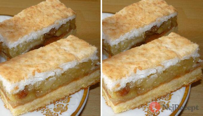 Recept Nejlepší jablečný koláč s kokosovou pěnou, který se rozplývá na jazyku