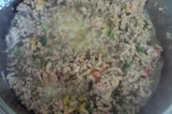 Příprava receptu Slavnostní slaná bábovka se slaninkou a houbovou omáčkou, krok 1