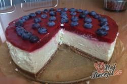 Příprava receptu Tvarohový cheesecake s bílou čokoládou, krok 10