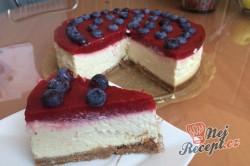 Příprava receptu Tvarohový cheesecake s bílou čokoládou, krok 11