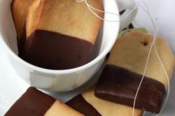 Příprava receptu Sušenky k čaji ,,Čajový sáček,,, krok 1