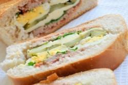 Příprava receptu Plněný chlebíček na snídani nebo k večeři, krok 6
