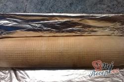 Příprava receptu Roláda z dortových oplatek, krok 11