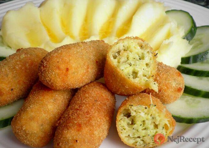 Recept Cuketové krokety s bramborovou kaší