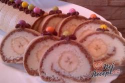 Příprava receptu Roláda z dortových oplatek, krok 12