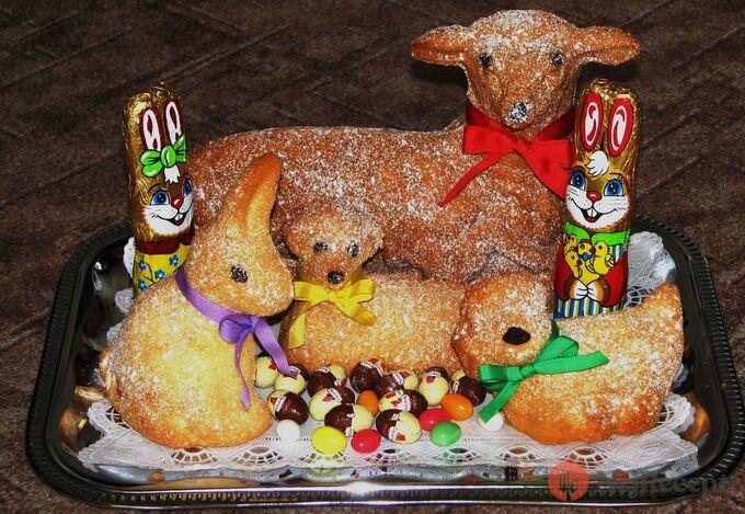 Recept Velikonoční beránek - velký i malý