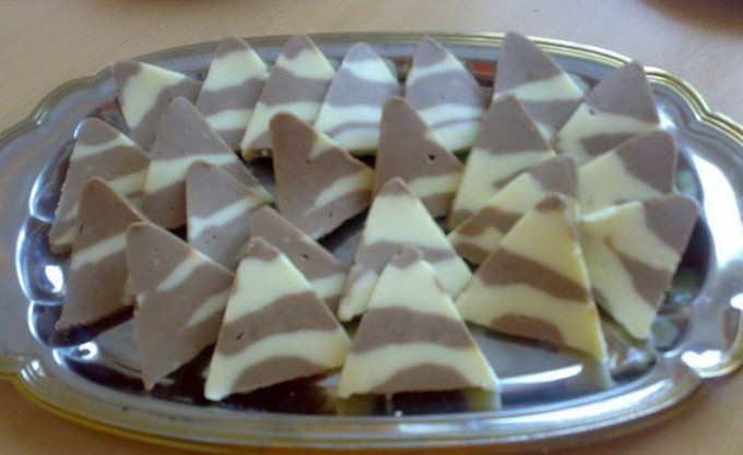 Recept Kinder TOBLERONE