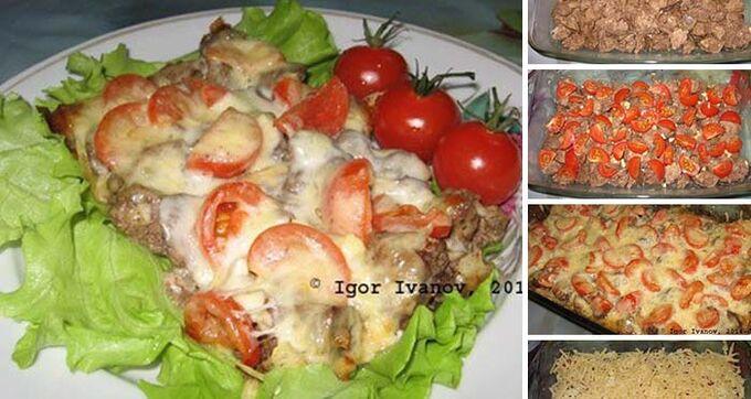 Recept Zapečená kuřecí játra pod sýrovou peřinkou