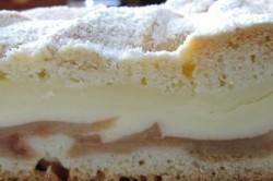 Příprava receptu Jablečný koláč s vanilkovým pudinkem, krok 2