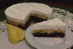 Příprava receptu Výborný jablečný koláč se sněhovou peřinkou, krok 14