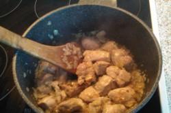 Příprava receptu Segedínský guláš - fotopostup, krok 1