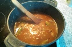 Příprava receptu Segedínský guláš - fotopostup, krok 3