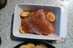 Příprava receptu Pečené kuře na řecký způsob, krok 6