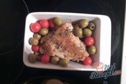Příprava receptu Pečené kuře na řecký způsob, krok 9