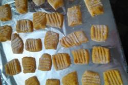Příprava receptu Dýňové noky se špenátem, krok 5
