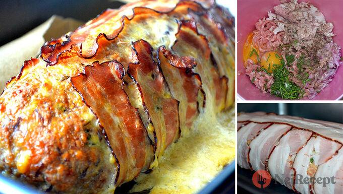 Recept Sekaná pečená ve slanině