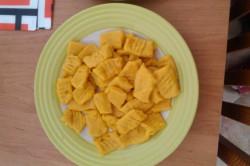 Příprava receptu Dýňové noky se špenátem, krok 7