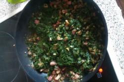 Příprava receptu Dýňové noky se špenátem, krok 12