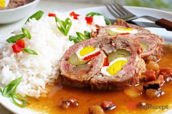 Recept Beskydský závitek s rýži