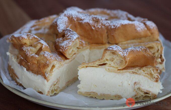 Recept Větrníkový dort jako z cukrárny