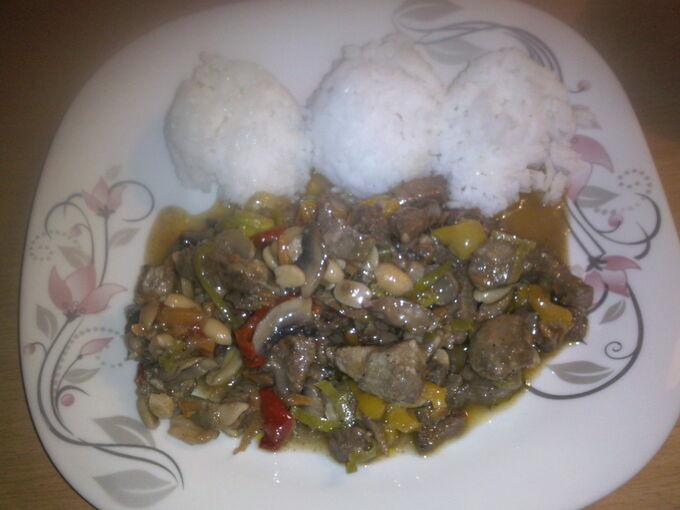 Recept Čína s rýži
