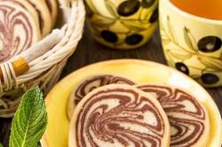 Příprava receptu Výborné kakaové sušenky s vanilkou, krok 7