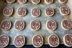Příprava receptu Výborné kakaové sušenky s vanilkou, krok 6