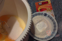Výborný višňový koláč (Fotorecept), krok 2