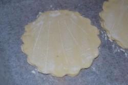 Príprava receptu Slané mušle z lístkového cesta, krok 3