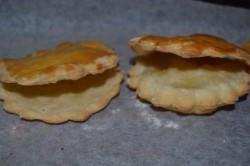 Príprava receptu Slané mušle z lístkového cesta, krok 4